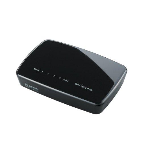 ELECOM 無線LAN(Wi-Fi)ルーター 親機 11ac/n/a/g/b 433+300Mbps WRC-733FEBK