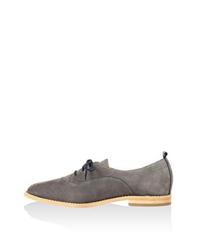 L37 Zapatos de cordones Gris