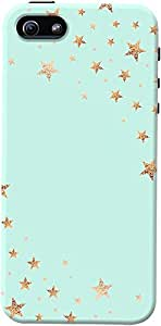 DailyObjects Starshower Gold Mint Case For iPhone 5/5S