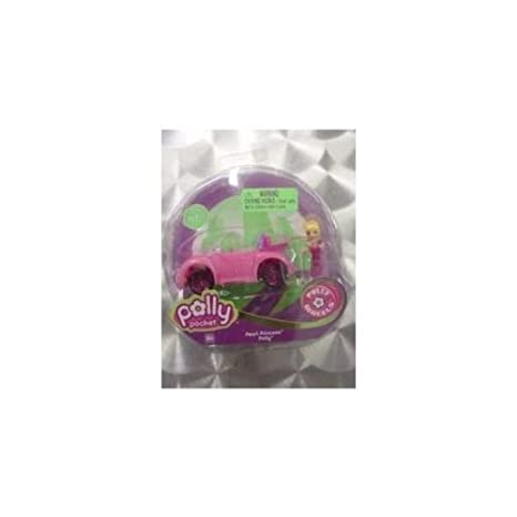 Mattel - L4382 - Véhicule Miniature - Polly Pocket - Micro Voiture - Pretty In Pink