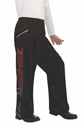 [Michael Jackson Child's Value Costume Accessory Black Bad Buckle Pants, Large] (Childrens Michael Jackson Costumes)