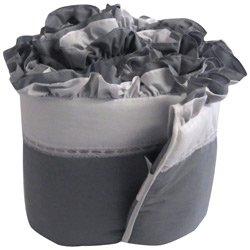 Regal Cradle Bumper- Color: Grey, Size: 15x33