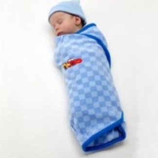 """Disney """"Little Racer"""" Baby Swaddler Sleepsack"""