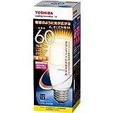 東芝ライテック LED電球 T形 電球色 断熱材施工器具対応