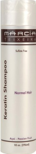 Marcia Teixeira Brazilian Keratin Shampoo - Normal Hair, 10 OZ