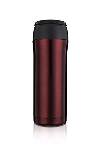 Highwave JOEmo 13oz Vacuum Stainless Steel Travel Mug Color Burgundy (Joemo Travel Mug Lid compare prices)