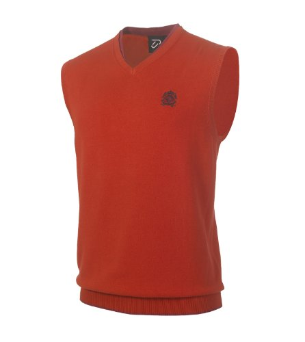 IJP Design by Ian Poulter SS13 Players Crest Slipover (K87) Poppy S