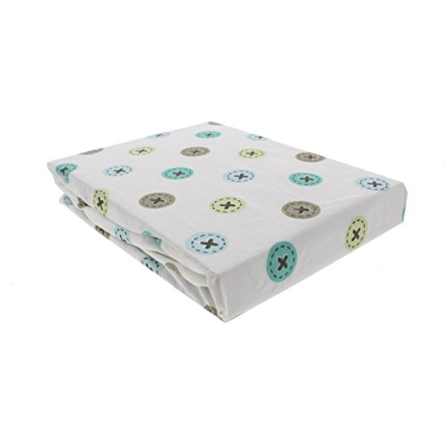 Toyland Crib Fitted Sheet - same as in set - 1