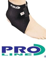 Proline Neoprene Ankle Support PL08 Towelling lines, Tailored Design Ensures Maximum Support, Universal Sizes