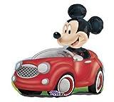 disney mickey mouse jumbo mylar birthday party balloon (RED, 1)