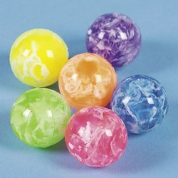 Cheapest Prices! Neon Swirled Bouncing Balls (4 dozen) - Bulk [Toy]