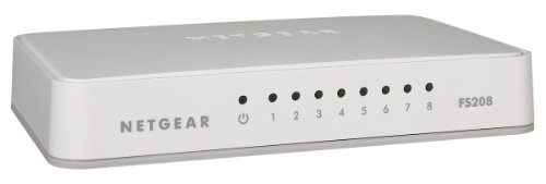 Netgear FS208-100PES Fast Ethernet Switch (8-Port)