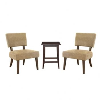 Cheap Classic Seating 3 Piece Accent Chairs & End Table Set (B004UY8J4G)