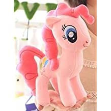 Super Cute 1pc 30cm Pony Doll Cartoon Horse Plush Toy (pink)