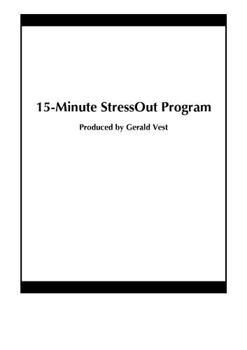 Cover art for  15-Minute StressOut Program