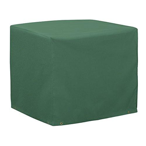 Classic Accessories 52-132-011101-11 Atrium Square Air Conditioner Cover, Green