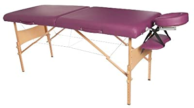 3B Scientific Deluxe Wood Portable Massage Table