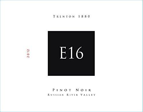 "2012 E16 Russian River Valley ""Trenton 1880"" Pinot Noir 750 Ml"