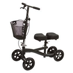 Knee Walker - Scooter in Black