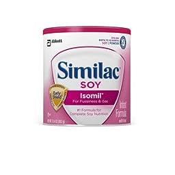Similac Soy Isomil Powder, 12.4 OZ (Case of 6)