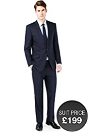 Autograph Pure Wool Slim Fit 2 Button Jacket