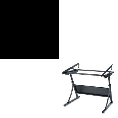 KITHON514PPSAF3957 - Value Kit - Safco PlanMaster Drafting Table Base (SAF3957) and The HON Company HON 510 Series 4-Drawer Vertical File, Black (HON514PP)