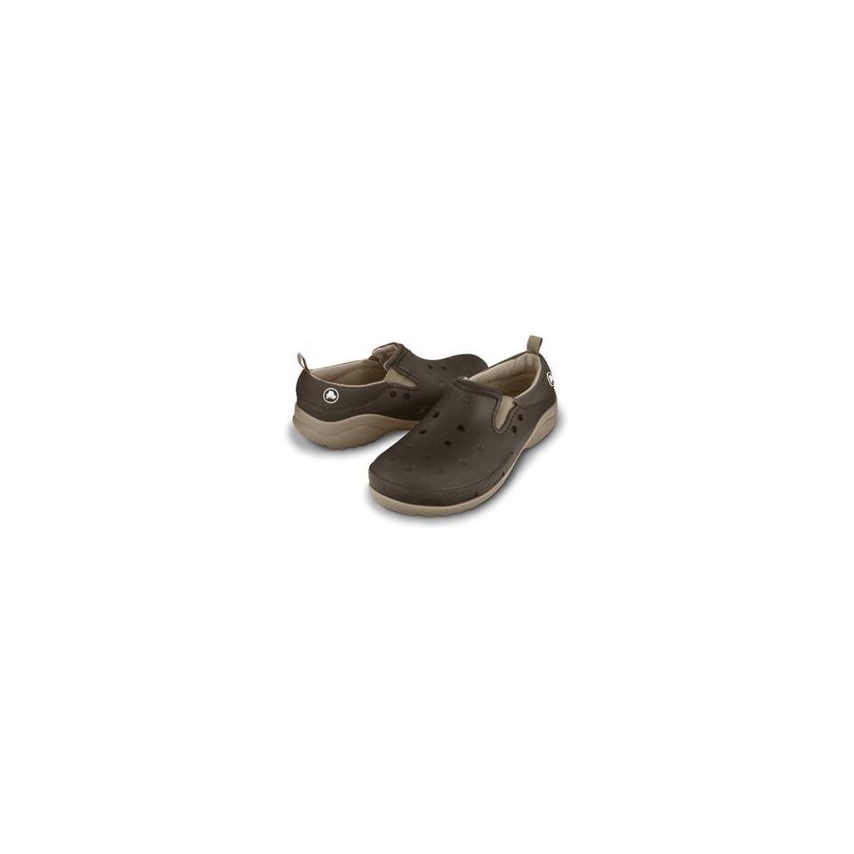 fa7094077 Crocs Boundless Lined Clog Loafer Espresso Khaki size 7 Men 9 women ...