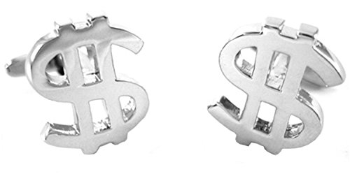 Dollar Sign Money Cufflinks Thanksgiving Gifts