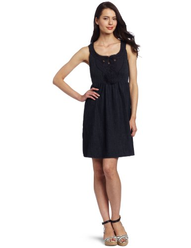 Calvin Klein Jeans Women's Denim Dress, Rinse, Small