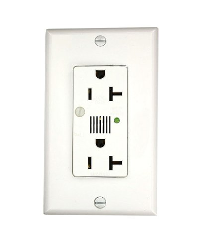 commercial electrical 20 amp  125 volt  decora plus duplex surge suppressor receptacle  straight