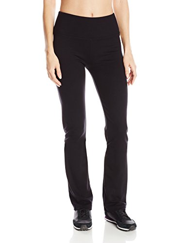 Calvin Klein Performance Women's Ponte Knit Straight Leg Pant, Black, Small