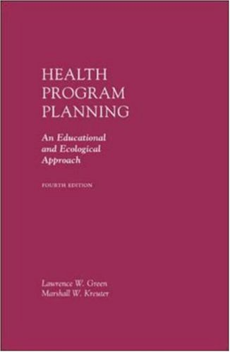Health Program Planning: An Educational and Ecological...