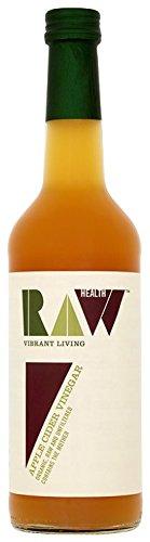 Raw-Health-Vinaigre-de-Cidre-Bio-Non-Pasteuris-avec-Mre-de-Vinaigre-500-ml-Lot-de-6