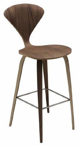 Terrific Where To Buy Nuevo Satine Counter Stool American Walnut Short Links Chair Design For Home Short Linksinfo