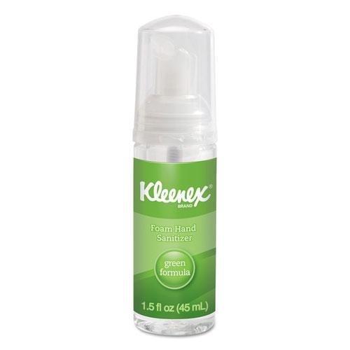 KIMBERLY CLARK CONSUMER 33945 KLEENEX Green Certified Foam Hand Sanitizer 1.5oz Clear 24/Carton