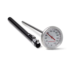 Farberware BBQ Instant Read Thermometer with Large Dial Face