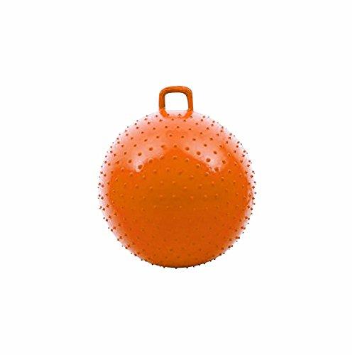 "Rinco 36"" Knobby Bouncy Ball Orange"
