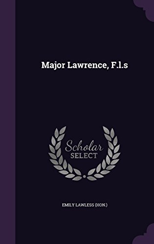 Major Lawrence, F.l.s