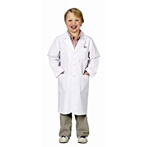 Aeromax Jr. Lab Coat, 3/4 Length (Child 8-10)