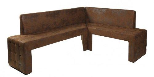 Design-Eckbank-Karina-Trend-modern-Mirkofaser-Wildlederlook-Vintage-braun-links