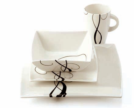 Maxwell  &  Williams Breeze 16 Piece Dinner Set