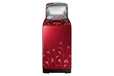 Samsung WA70H4020HP/TL Fully-automatic Top-loading Washing Machine (7 Kg, Lily Pattern Red)