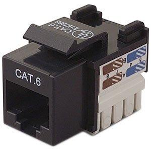 """Brand New Belkin International, Inc - Belkin Cat.6 Keystone Jack - Rj-45 """"Product Category: Hardware Connectivity/Connectors"""""""