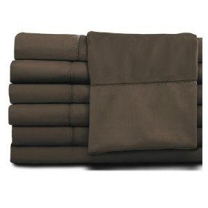 Christy Queen Sheet Set 450 Thread Count -Chocolate
