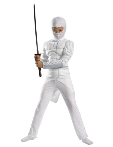 Storm Shadow Classic Muscle 7-8 Kids Costume Kids Boys Costume