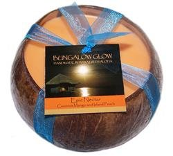 Hawaiian Coconut Candle Epic Nectar Mango Scented
