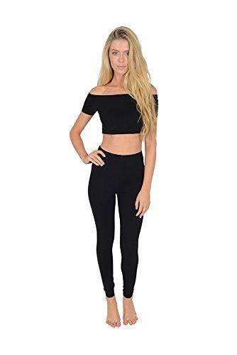 Women's Wardrobe -  Leggings  - Donna Black 54
