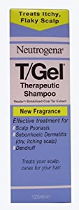 Neutrogena T/Gel Therapeutic Shampoo Treatment for Scalp Psoriasis, Itching Scalp and Dandruff 125ml from Johnson & Johnson