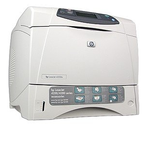Hp Laserjet 4300Tn Printer back-1029550