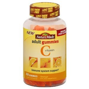 Nature Made Vitamin C adult gummies immune system support (80 gummies(pack of 2))